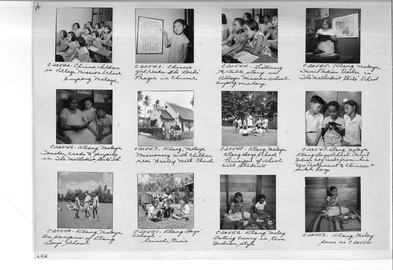 Mission Photograph Album - Malaysia #8 page 0014