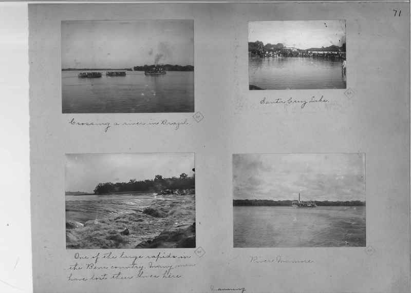 Mission Photograph Album - South America O.P. #1 page 0071