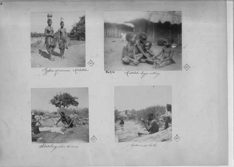Mission Photograph Album - Africa O.P. #4 page 0020