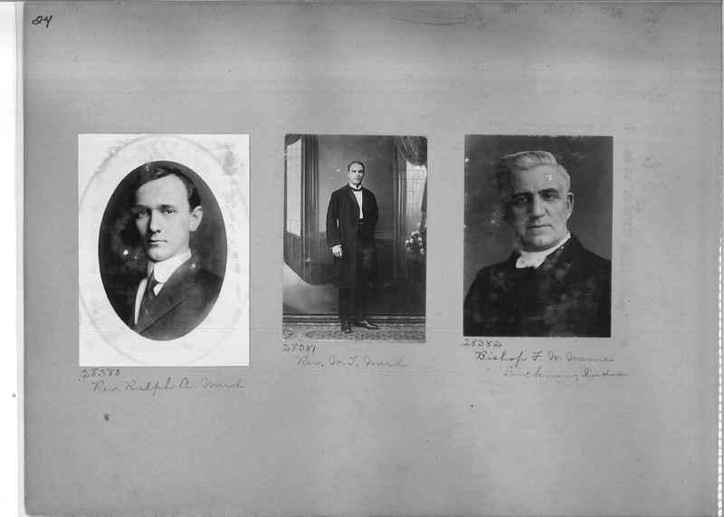 Mission Photograph Album - Portraits #1 page 0024