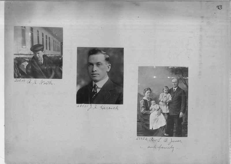 Mission Photograph Album - Portraits #2 page 0043