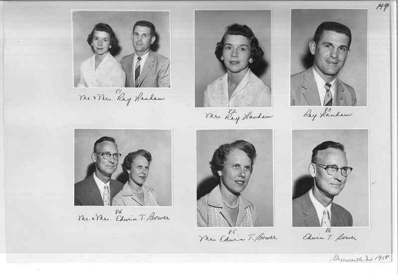 Mission Photograph Album - Portraits #10 Page 0149