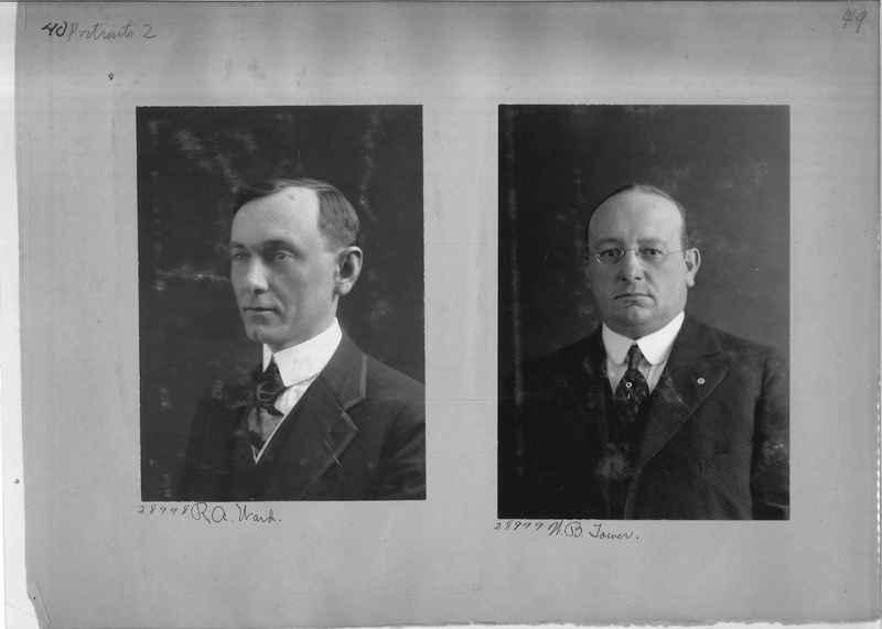 Mission Photograph Album - Portraits #2 page 0040