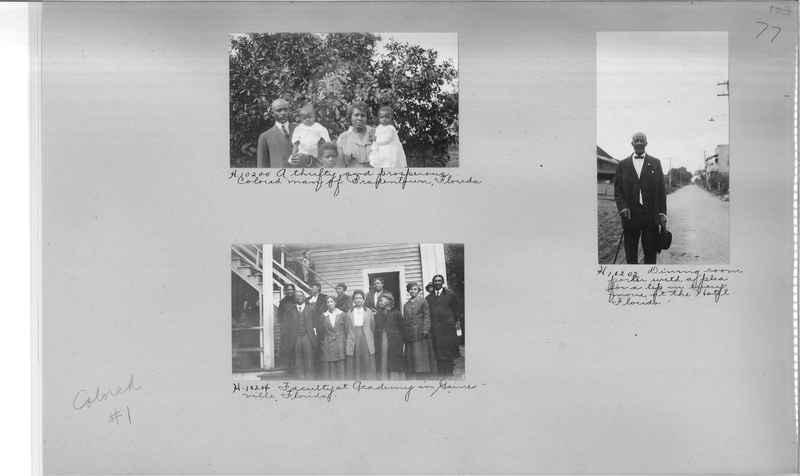 Mission Photograph Album - Negro #1 page 0077