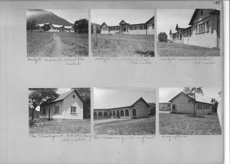 Mission Photograph Album - Africa O.P. #4 page 0189