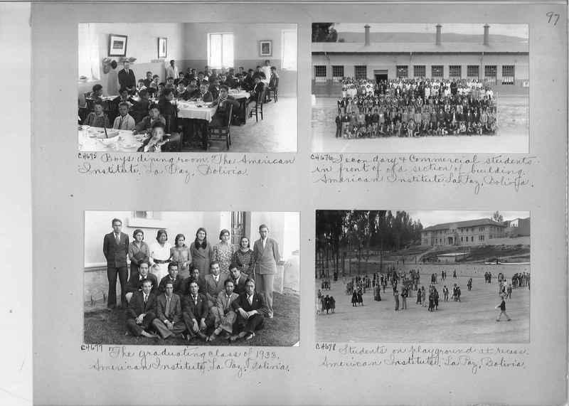 Misson Photograph Album - South America #8 page 0097
