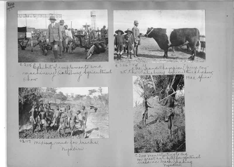 Mission Photograph Album - Africa #14 page 0200