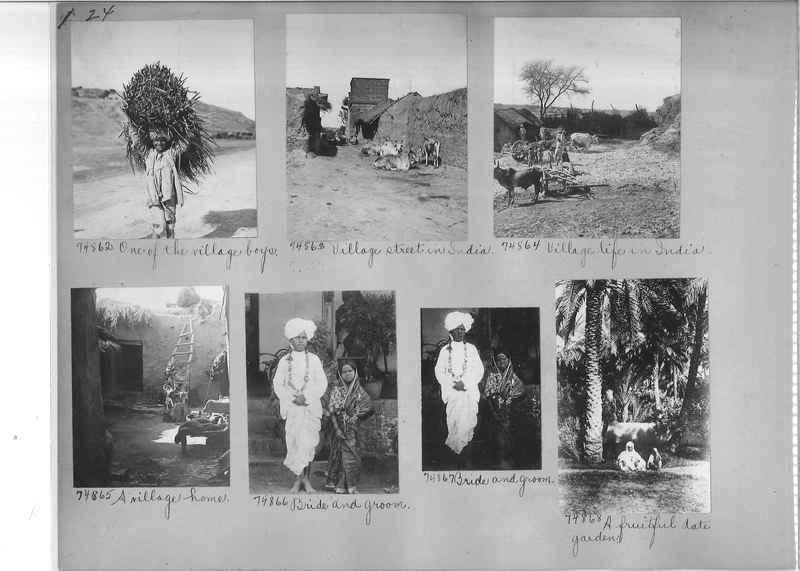 Mission Photograph Album - India #09 Page 0024