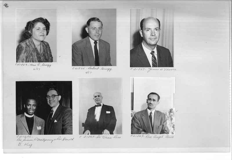 Mission Photograph Album - Portraits #10 Page 0096