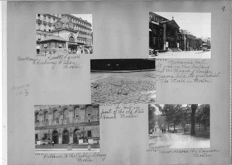 Mission Photograph Album - America #3 page 0009