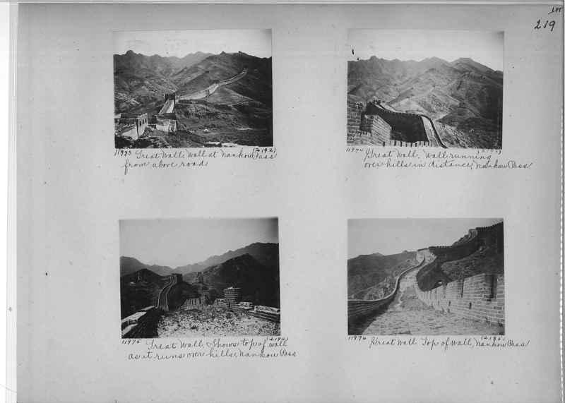 Mission Photograph Album - China #2 page  0219