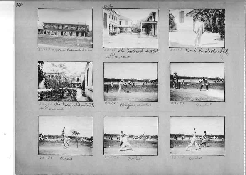 Mission Photograph Album - Panama #02 page 0014