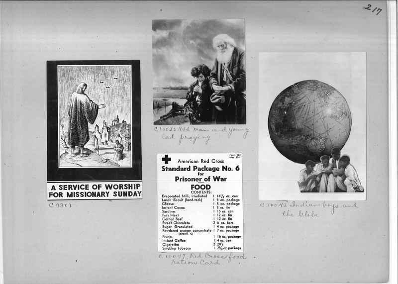 Mission Photograph Album - Miscellaneous #02 Page 0217