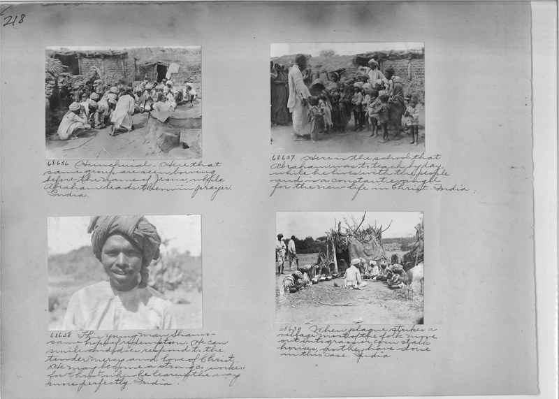 Mission Photograph Album - India #08 Page 0218