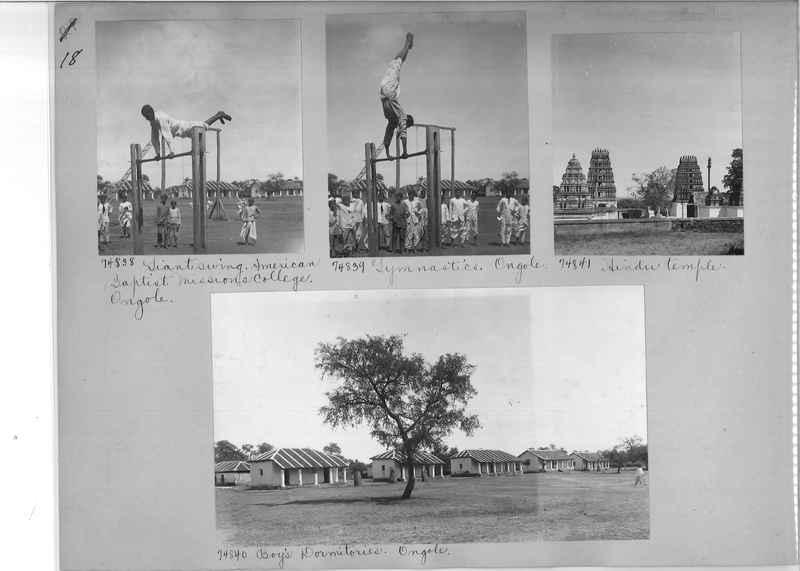 Mission Photograph Album - India #09 Page 0018