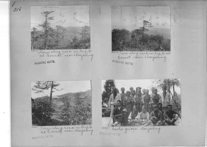 Mission Photograph Album - India #09 Page 0216