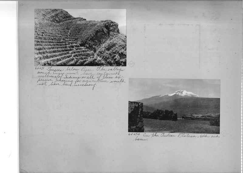 Mission Photograph Album - South America O.P. #3 page 0012