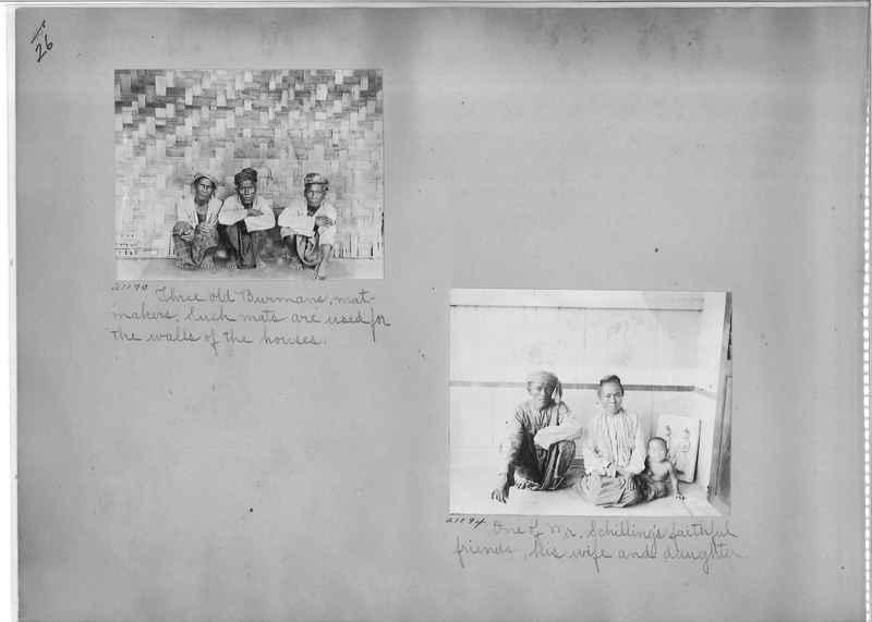Mission Photograph Album - Burma #1 page 0026