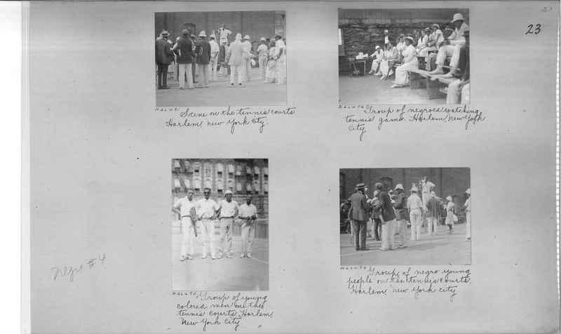 Mission Photograph Album - Negro #4 page 0023