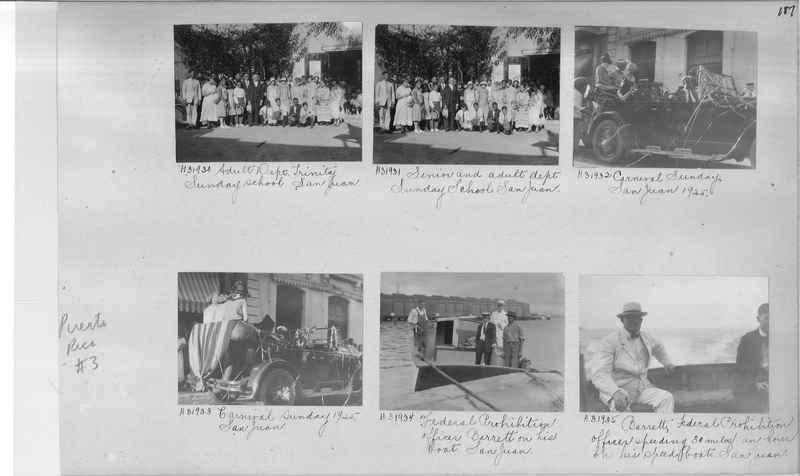 Mission Photograph Album - Puerto Rico #3 page 0187