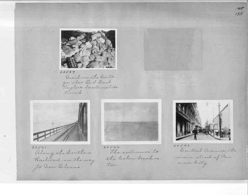 Mission Photograph Album - Panama #1 page  0155