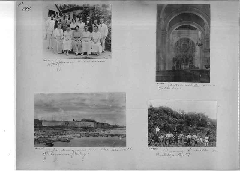 Mission Photograph Album - Panama #02 page 0184
