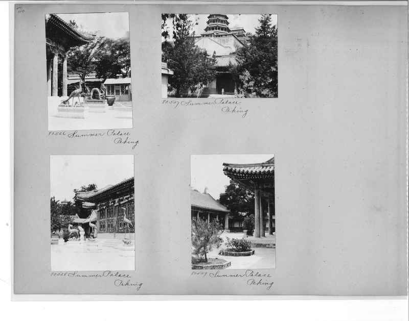 Mission Photograph Album - China #10 pg. 0109