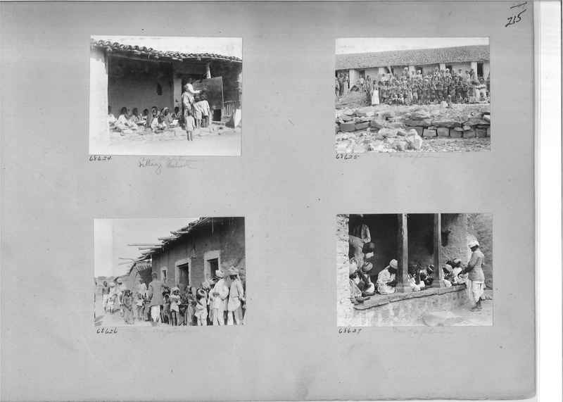 Mission Photograph Album - India #08 Page 0215