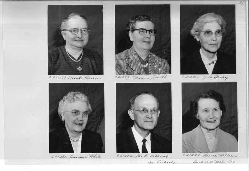Mission Photograph Album - Portraits #10 Page 0039