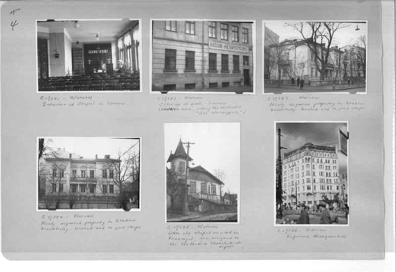 Mission Photograph Album - Europe #10 Page 0004