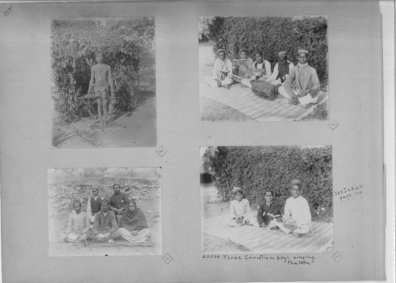 Mission Photograph Album - India - O.P. #02 Page 0132