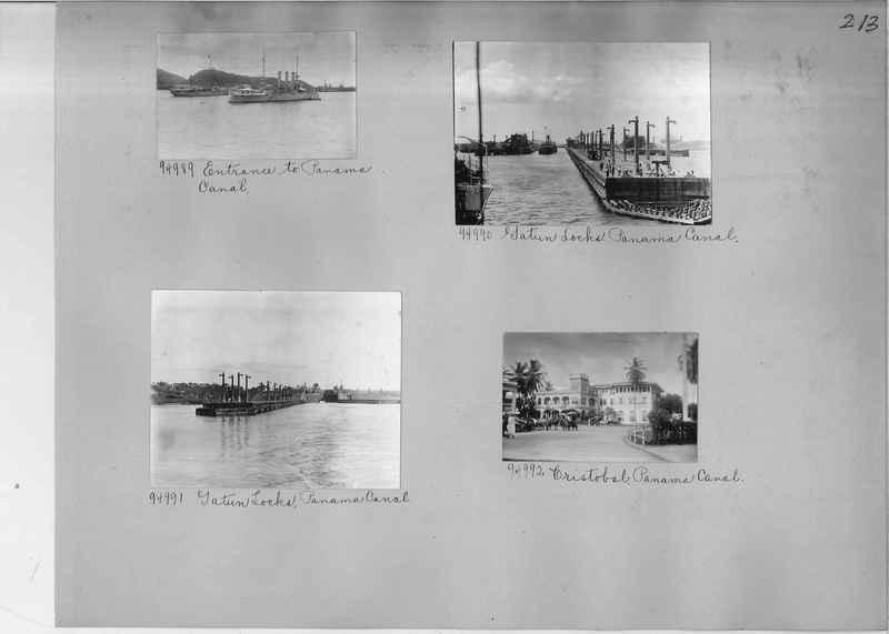 Mission Photograph Album - Panama #04 page 0213