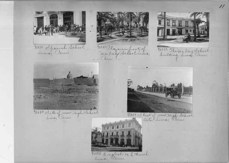 Misson Photograph Album - South America #8 page 0011