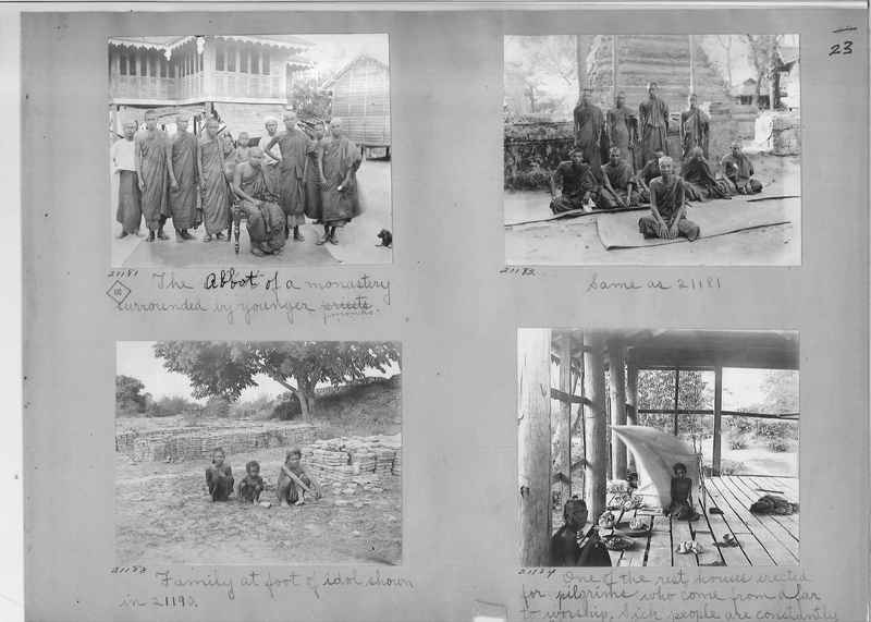 Mission Photograph Album - Burma #1 page 0023