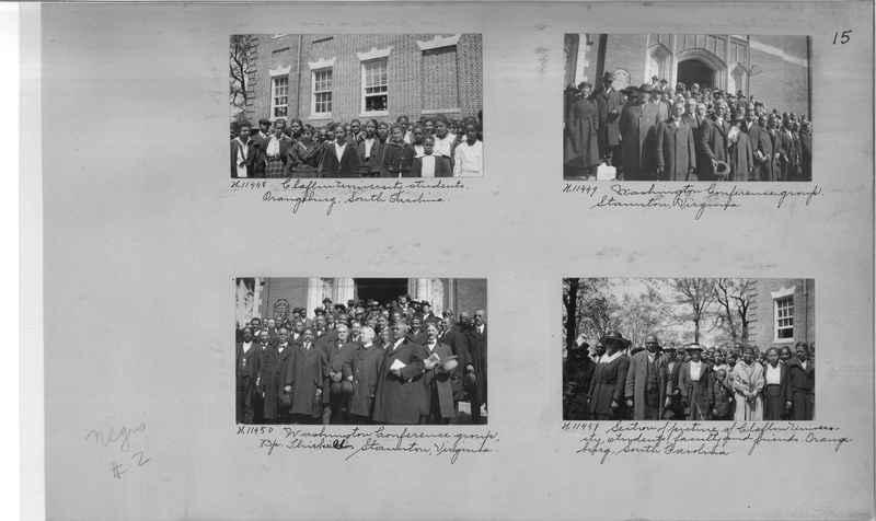 Mission Photograph Album - Negro #2 page 0015