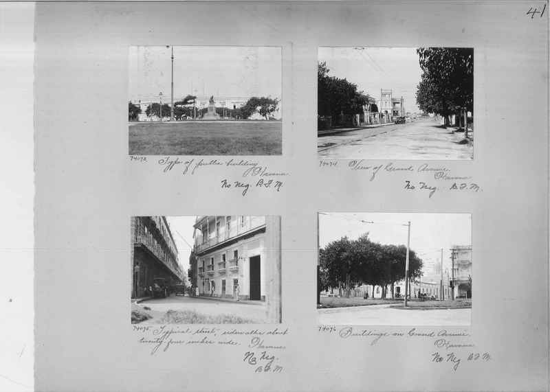 Mission Photograph Album - Panama #03 page 0041
