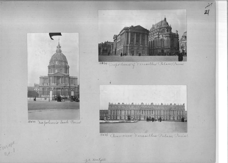 Mission Photograph Album - Europe #01 Page 0021