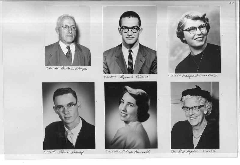 Mission Photograph Album - Portraits #10 Page 0051