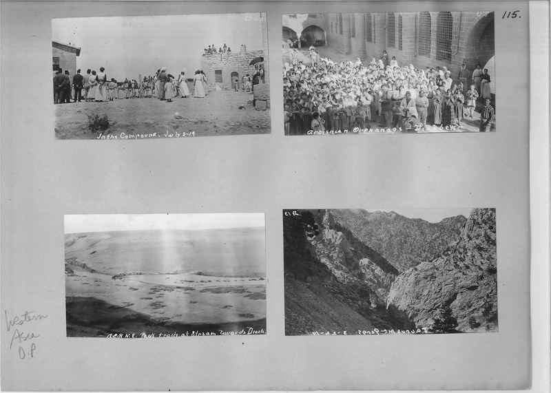 Mission Photograph Album - Western Asia - O.P. - #01 page_0115