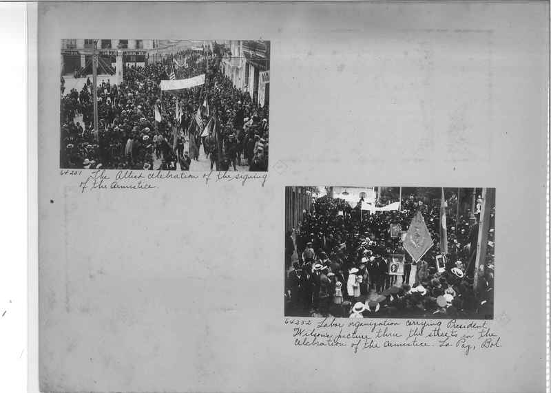Mission Photograph Album - South America O.P. #3 page 0002