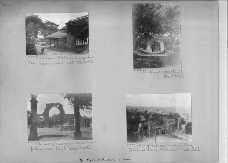 Mission Photograph Album - India #03 page_0094
