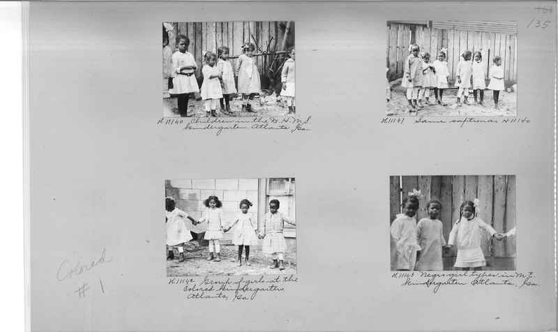 Mission Photograph Album - Negro #1 page 0135