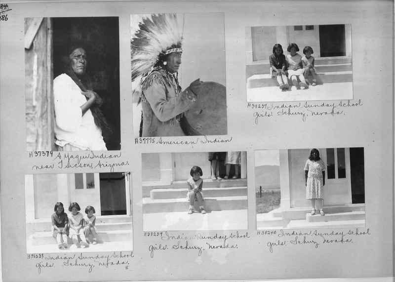 Mission Photograph Album - Indians #2 page_0186