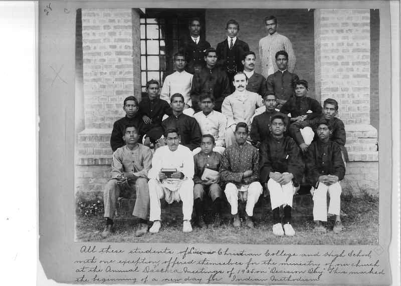 Mission Photograph Album - India - O.P. #01 Page 0028