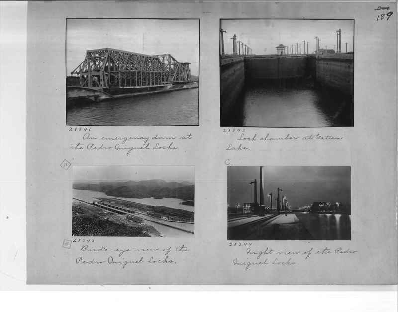 Mission Photograph Album - Panama #1 page  0189