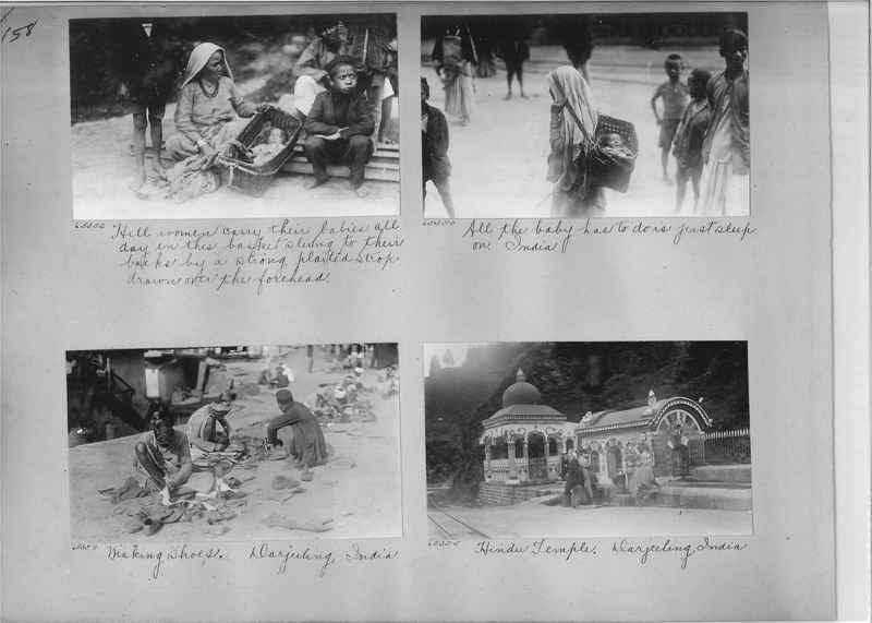 Mission Photograph Album - India #08 Page 0158