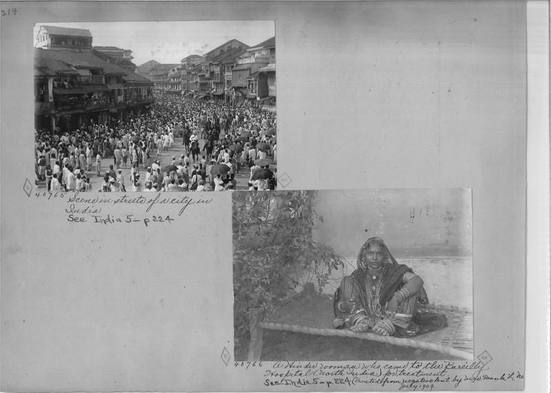 Mission Photograph Album - India - O.P. #02 Page 0214