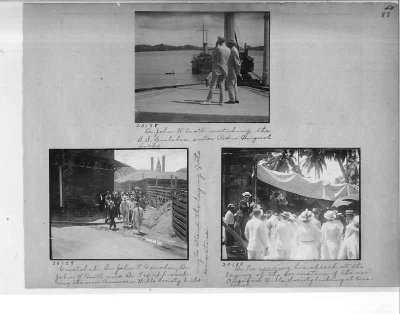 Mission Photograph Album - Panama #1 page  0083