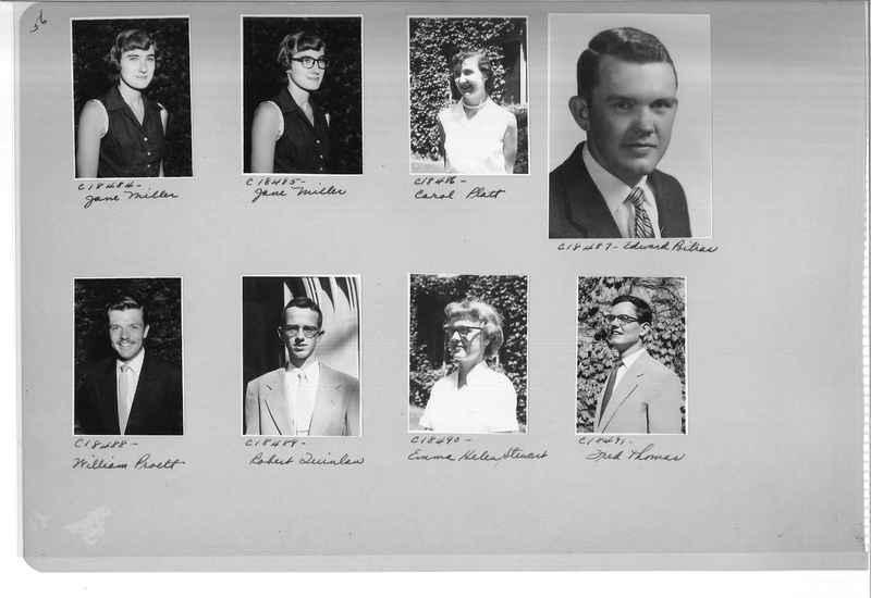 Mission Photograph Album - Portraits #08 Page 0056