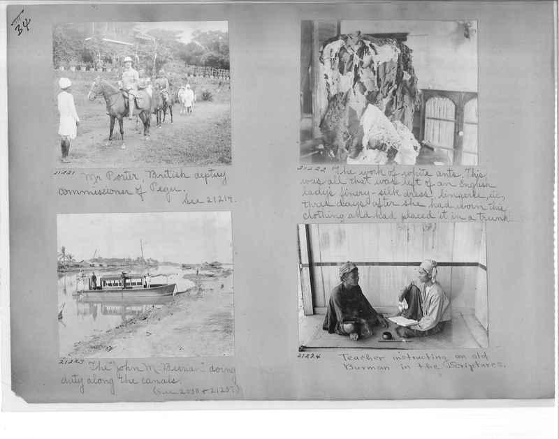 Mission Photograph Album - Burma #1 page 0034